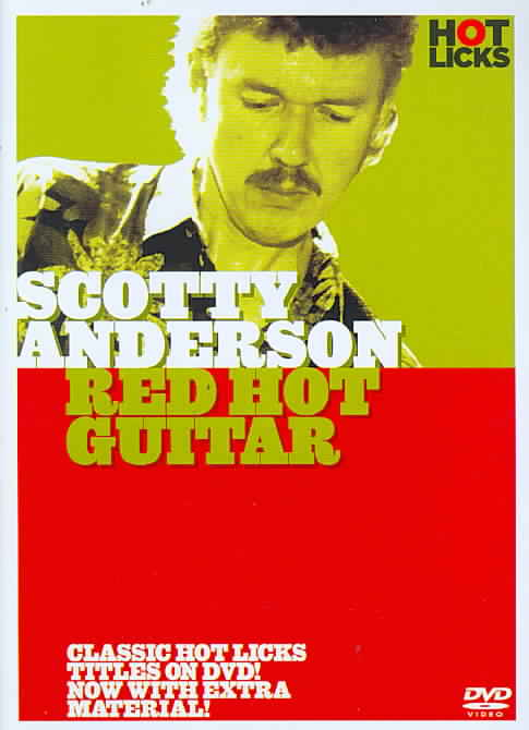 SCOTTY ANDERSON:RED HOT GUITAR BY ANDERSON,SCOTTY (DVD)